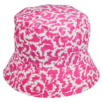 BUCKET - WOMENS RAIN BUCKET W/ NOVELTY PRINT