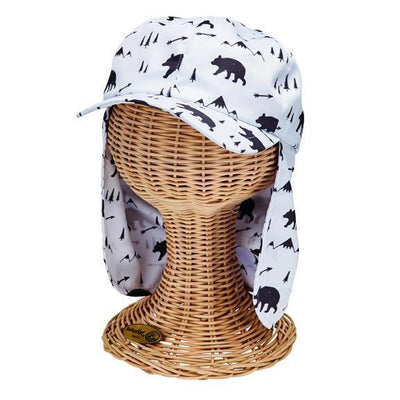 Kids' All Over Print Cap W/ Neck Cover (CTK4195)