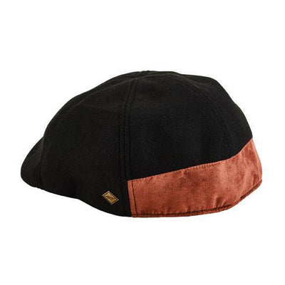 Driver - 6-panel Driver With Faux Suede Back Panel And Under Brim