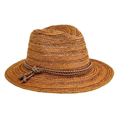FEDORA - WOMENS FEDORA W/ DOUBLE KNOT BRAID TRIM