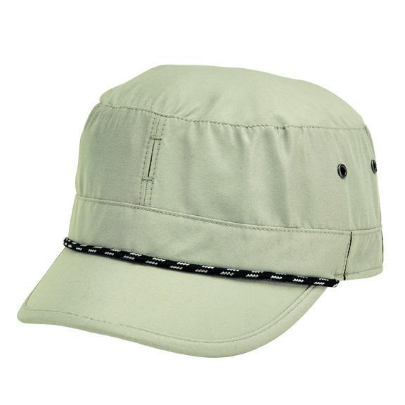 b8365975af0eb HAT - Men s Lightweight Packable Military Cap With Interior Mesh And Moisture  Wicking Sweatband
