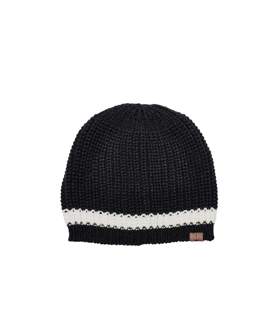79667470ffc8b Knit Beanie With Contrast Stripe And Anchor (KNH3475OS)