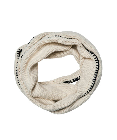 Hats - Knit Infinity Scarf With Whip Stitch