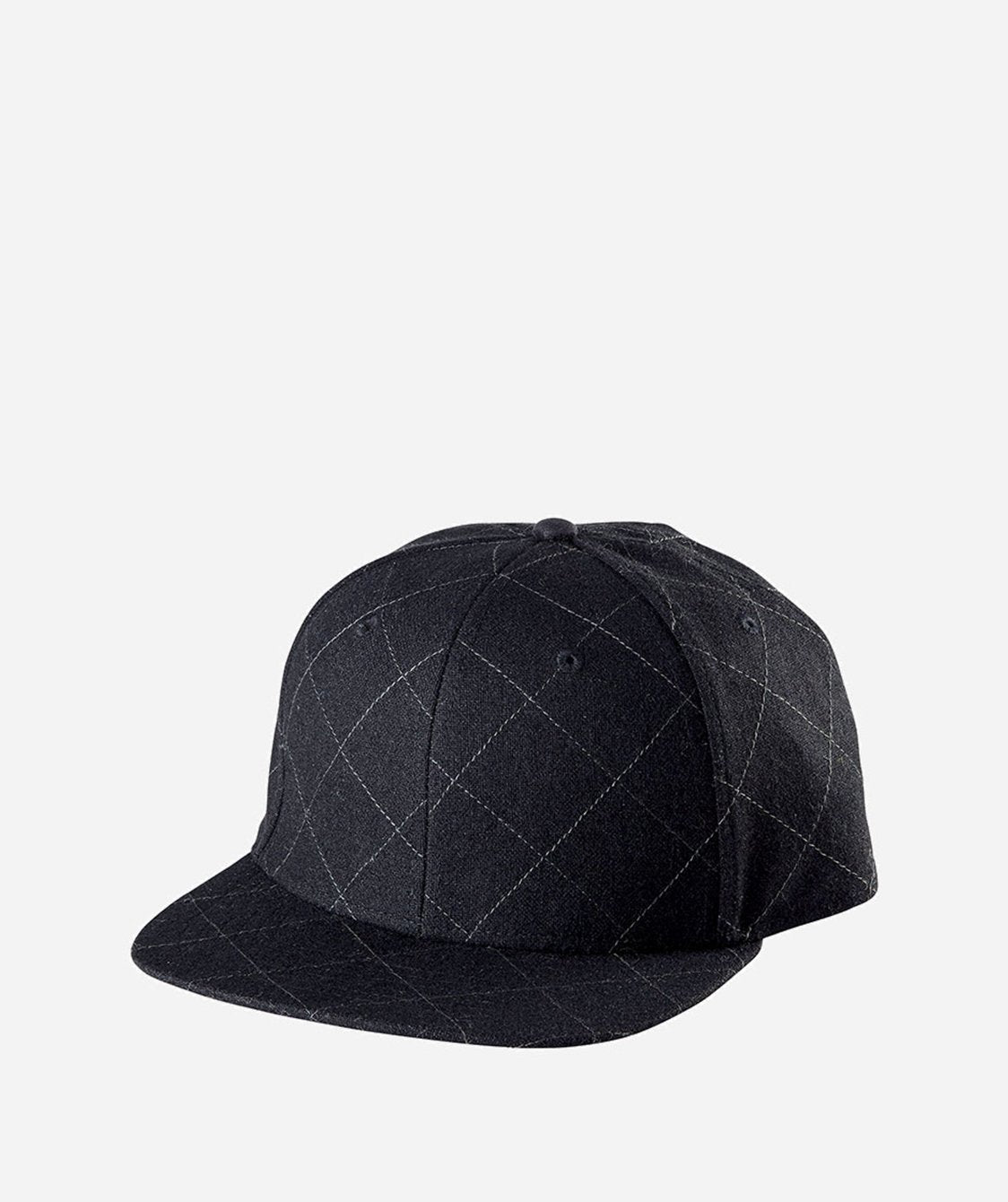 7269f1baf50 Mens O S Qiuilted Wool Cap With Adjustable Back (SDH2047) - San ...
