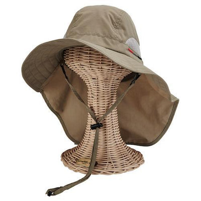 Hats - Mens Outdoor Sun Hat-Olive-One Size