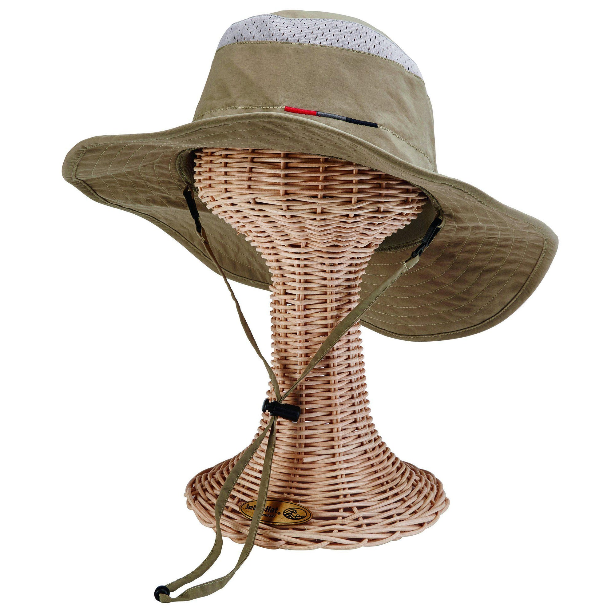 Mens Outdoor Sun Hat-Olive-One Size (OCM4617OSOLV) - San Diego Hat ... aa6bbc5470b1