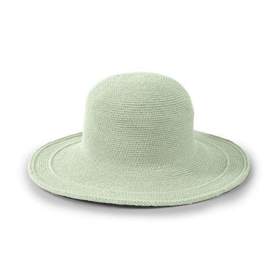 San Diego Hat Company's Original Women's Cotton Crochet Large Brim Hat (CHL5)
