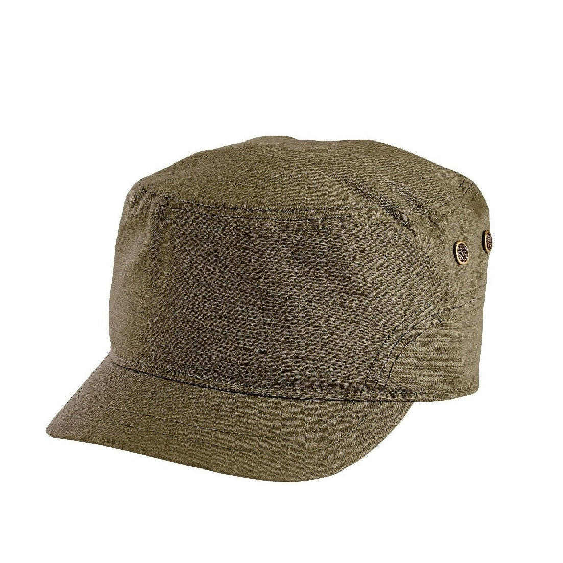 Unisex Textured Cotton Military Cap (CTH8061) - San Diego Hat Company 14d5a46ffbb
