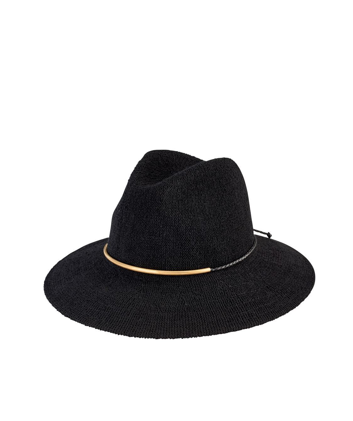 b74ba2520d6 Women s Knit Fedora with Braided Faux Suede (CTH8077) - San Diego ...