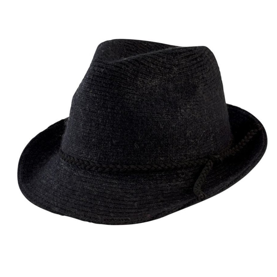 04bea938c83 Women s Knit Fedora With Faux Suede Band (CTH8071) - San Diego Hat ...