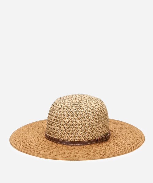 Hats - Women's Ultrabraid Ombre Sun Brim With Faux Leather Band