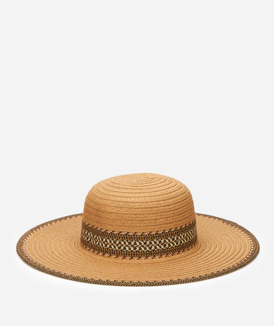 Hats - Women's Ultrabraid Sun Brim With Contrast Pattern Band And Edge