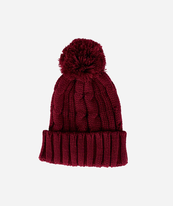 2d418d90a45 Womens Solid Cable Knit Beanie (KNH3423) - San Diego Hat Company