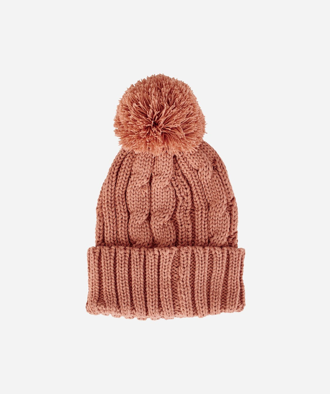 Womens Solid Cable Knit Beanie (KNH3423) - San Diego Hat Company 5bcc852296e
