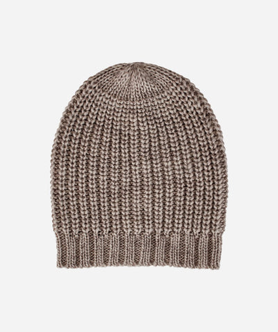 Hats - Womens Solid Knit Beanie
