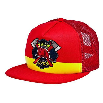 "Kids ""FIRE DEPT."" Trucker (CTK4205)"