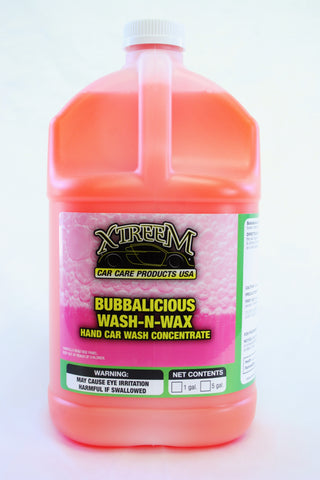 Bubbalicious Wash 'N Wax