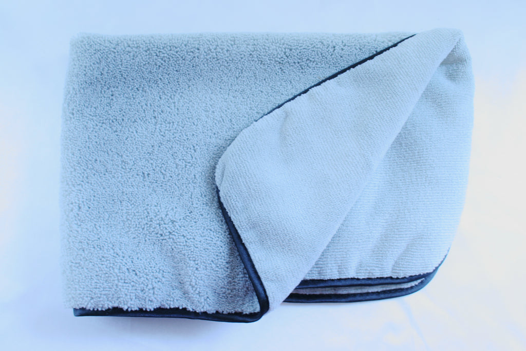 Super Plush Polishing Cloth with Silk Border