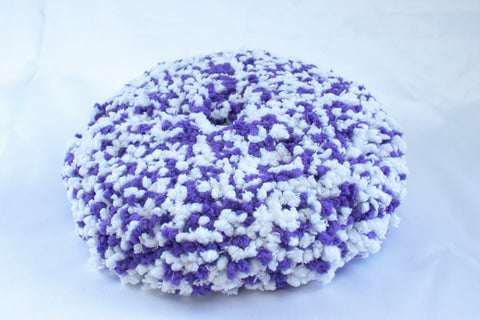 Polishing/Compounding White and Purple Microfiber Pad