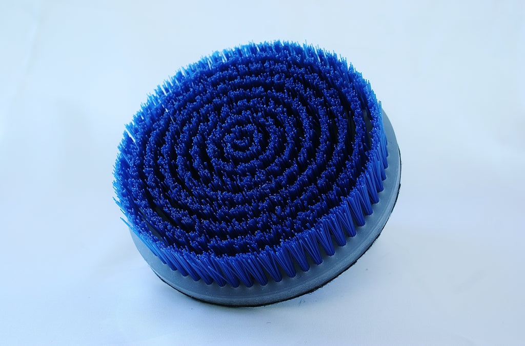 5'' Loop Backed Short Bristle Rotary Brush