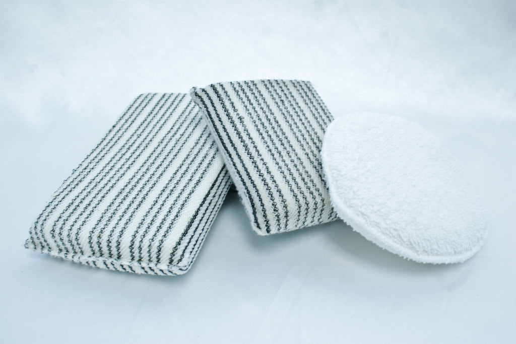 Terry Towel Wax Applicator Pad