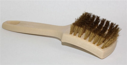 Brass White Wall Tire Brush