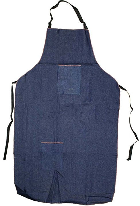 Denim Apron Deluxe with Pockets