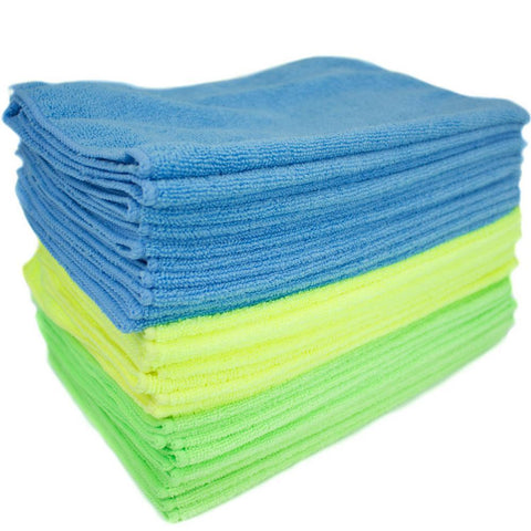 Yellow Microfiber Towel