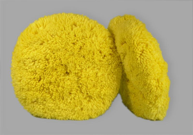 Professional Double-Sided Medium Cutting and Polishing Wool Pad