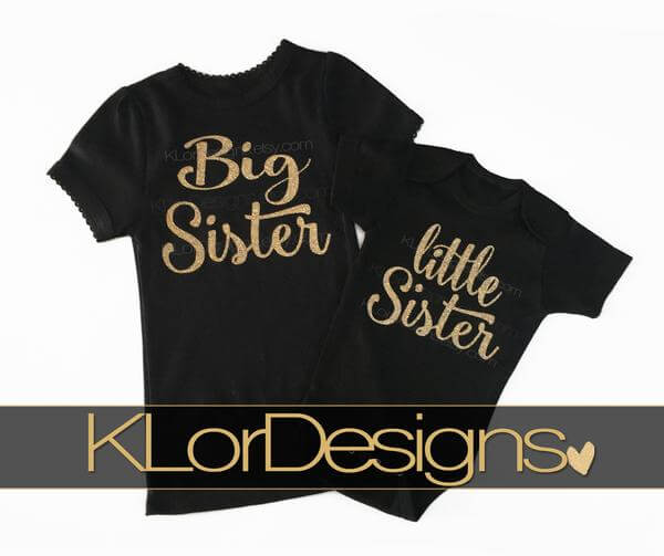 Big Sister and Little Sister Set