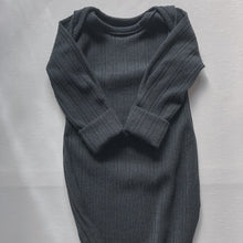 Load image into Gallery viewer, Maru ~ Charcoal Baby Gown