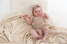 Load image into Gallery viewer, Baby Vest & Bloomers 2 piece ~ OAT