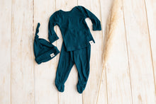 Load image into Gallery viewer, Sleep Set ~ Teal + Hat