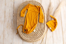 Load image into Gallery viewer, Saffron ~ Baby gown + hat