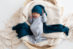 Rory ~ Grey Baby Gown
