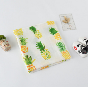 Muslin Swaddle - Pineapple