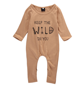 Romper Keep the Wild