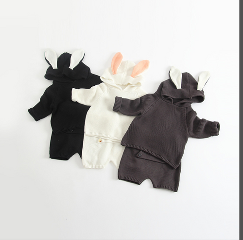 Bunny 2 Piece Outfit Knit
