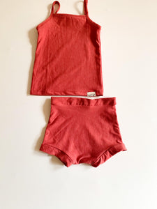 Baby Vest & Bloomers 2 piece ~ Coral