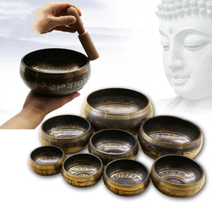 Buddhist Tibetan Meditation Singing Bowl