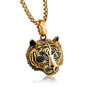 Tigers Head Amulet