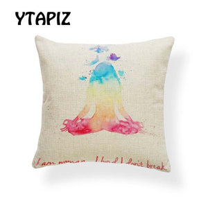 Zen Buddha Pillow Case