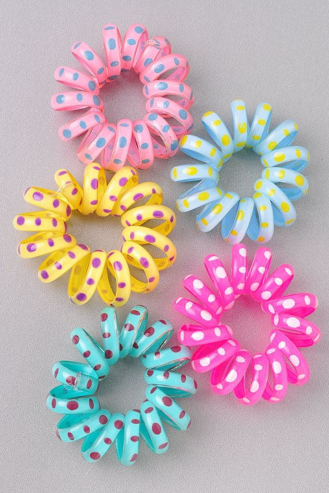 Large Spiral Hair Ties