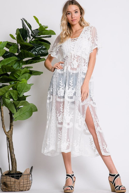 Sheer Boho Dress/Top
