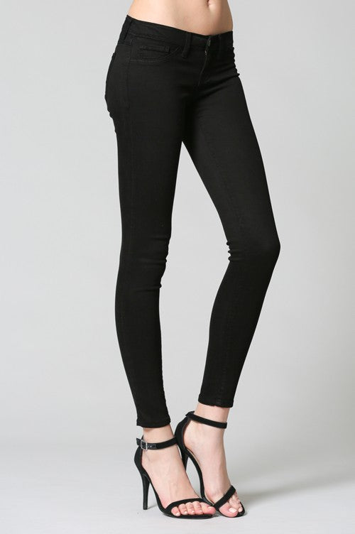 f6a89f9d1fda1 Motto Jeggings With Linear Detail.  37.00 · Flying Monkey Jeans in Black