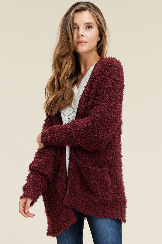 Super Soft Cardigan With Pockets