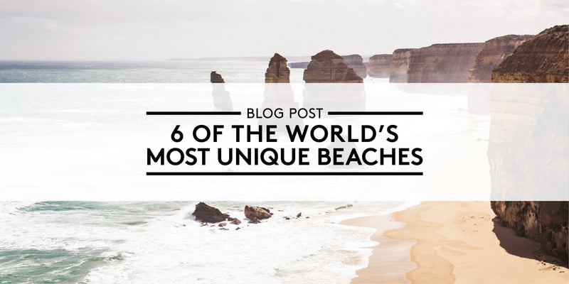 6 of the World's Most Unique Beaches
