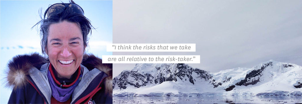 """I think the risks that we take are all relative to the risk-taker."""