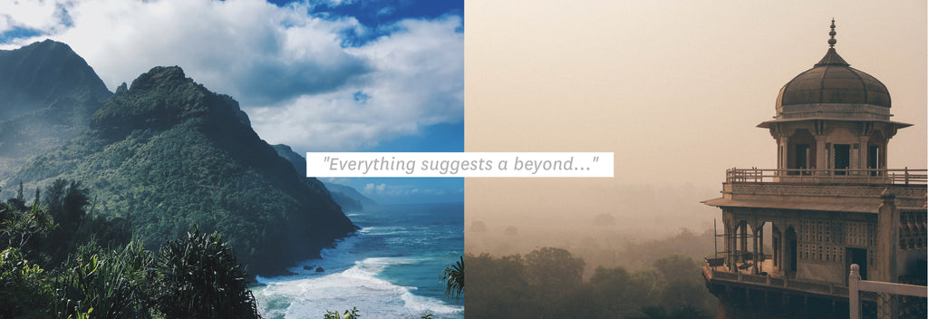 ''Everything suggests a beyond...""