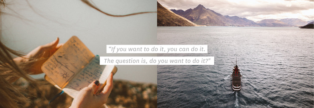 ''If you want to do it, you can do it. The question is, do you want to do it?''